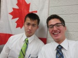 Elder Nathan Brown and Elder Wimmer